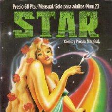 Cómics: REVISTA STAR. COMIX Y PRENSA MARGINAL. Nº 23. Lote 36434442