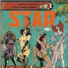 Cómics: REVISTA STAR. COMIX Y PRENSA MARGINAL. Nº 24. Lote 36434461