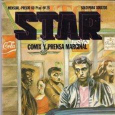 Cómics: REVISTA STAR. COMIX Y PRENSA MARGINAL. Nº 28. Lote 36434730