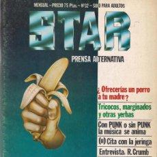 Cómics: REVISTA STAR. COMIX Y PRENSA MARGINAL. Nº 32. Lote 36434790