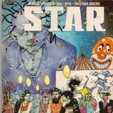 Cómics: REVISTA STAR. COMIX Y PRENSA MARGINAL. Nº 34. Lote 36434809