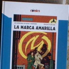Cómics: BLAKE Y MORTIMER. - LA MARCA AMARILLA. - EDGAR P. JACOBS. - COMICS EL PAIS Nº 7 2005. Lote 36442403