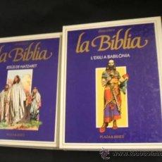 Cómics: COLECCION COMPLETA - 8 TOMOS - DESCOBRIR LA BIBLIA - PLAZA & JANES - EN CATALÀ - . Lote 36622905