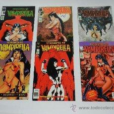 Cómics: LOTE DE 6 COMICS VENGANZA DE VAMPIRELLA DE VID - NUMEROS 7 - 5 - 6 - 8 - 12 Y 10 PUBLICADOS POR LA E. Lote 36795695