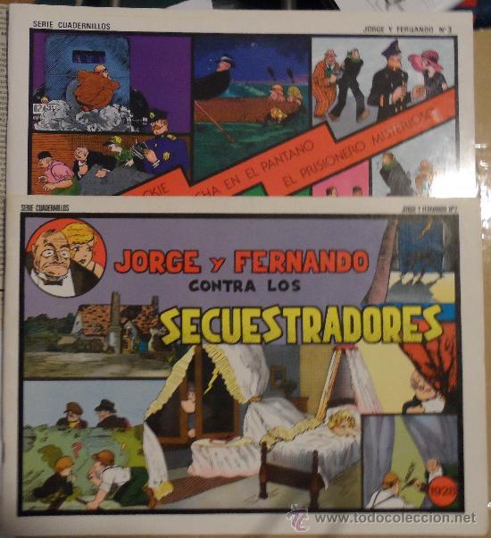 JORGE Y FERNANDO, 2 Y 3. JOAQUÍN ESTEVE EDITOR. GRANDES CLÁSICOS DE LOS CÓMICS DEL PASADO. (Tebeos y Comics - Comics otras Editoriales Actuales)