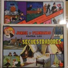 Cómics: JORGE Y FERNANDO, 2 Y 3. JOAQUÍN ESTEVE EDITOR. GRANDES CLÁSICOS DE LOS CÓMICS DEL PASADO.. Lote 36843574
