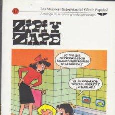 Cómics: BIBLIOTECA EL MUNDO. ZIPI Y ZAPE. LOTE DE 4 TOMOS: 17,18,20 Y 21.. Lote 206221902