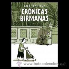 Cómics: TOMO CRONICAS BIRMANAS - GUY DELISLE - 272 PAGS (ASTIBERRI). Lote 36868645