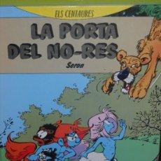 Cómics: 3 ALBUMES TAPA DURA BARCANOVA. ELS CENTAURES Y LAS AVENTURES DE GIL I JORDI. CATALAN. Lote 36878857