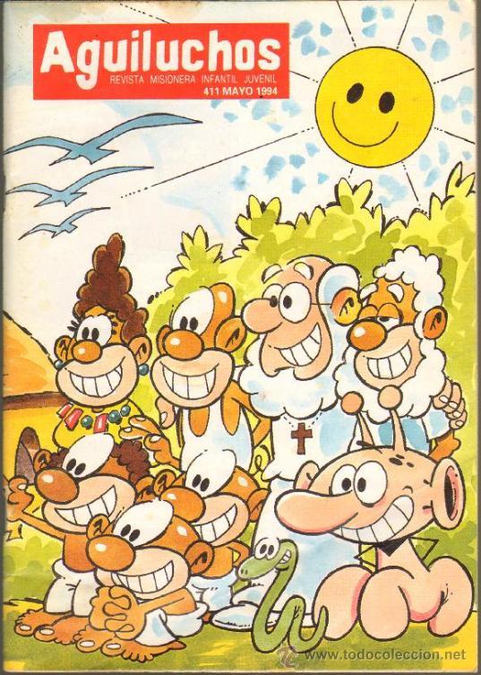 TEBEOS-COMICS GOYO - AGUILUCHOS - Nº 411 - REVISTA CON HISTORIETAS - 68 PAGS. *AA99 (Tebeos y Comics - Comics otras Editoriales Actuales)