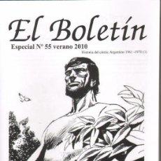 Cómics: TEBEOS-COMICS GOYO - EL BOLETIN - ESPECIAL Nº 55 Y 57 - HISTORIA DEL COMIC ARGENTINO *BB99. Lote 37058690