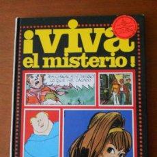 Cómics: COMIC DE 1978: VIVA EL MISTERIO. COLECIÓN ¡VIVA! EDITA: ESCO. TAPA DURA. Lote 37124417