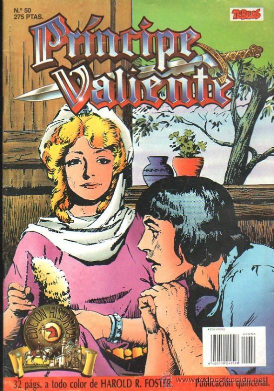 EL PRINCIPE VALIENTE. EDICION HISTORICA. Nº 50. EDICIONES B. (Tebeos y Comics - Buru-Lan - Principe Valiente)