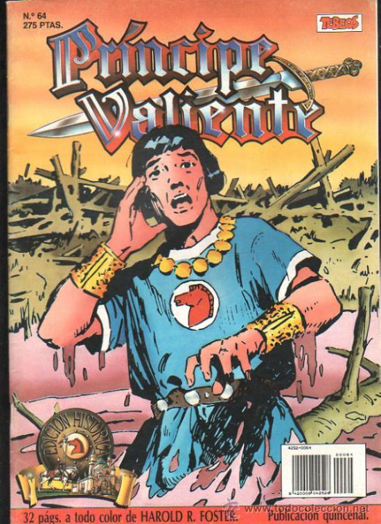 EL PRINCIPE VALIENTE. EDICION HISTORICA. Nº 64. EDICIONES B. (Tebeos y Comics - Buru-Lan - Principe Valiente)