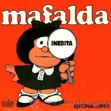 Cómics: MAFALDA INEDITA (QUINO) DE EDITORIAL LUMEN. Lote 37146752