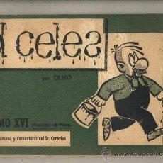Cómics: D. CELES. POR L. OLMO.TOMO XVI. 200 AVENTURAS Y DESVENTURAS DEL SR. CAROVIUS.. Lote 114634402