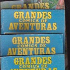 Cómics: GRANDES COMICS DE AVENTURAS, LOTE DE 10 EJEMPLARES - Nº - 1, 2, 3, 4,5, 6, 7, 8,11,12,. Lote 37254928