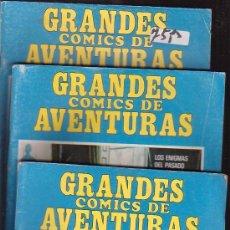 Cómics: GRANDES COMICS DE AVENTURAS, LOTE DE 5 EJEMPLARES. Lote 37255019