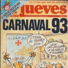 Cómics: EL JUEVES. LOTE DE 5 EJEMPLARES: 425,426,429,523 Y 821.. Lote 37294227