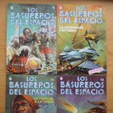 Cómics: 10 LOS BASUREROS DEL ESPACIO 3-4-6-7-8-9-10-11-12-13 SEMANARIO DE BRUGUERA LOTE NUEVOS 1986. Lote 27183669