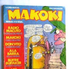Comics : MAKOKI Nº 10. Lote 37397823