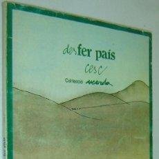 Cómics: DESFER PAÍS-CESC-COMIC-COL.LECCIÓ USERDA-ED.HACER- 1982. Lote 37441736
