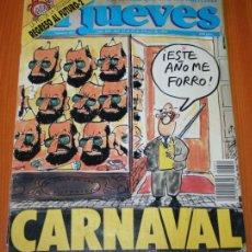 Cómics: EL JUEVES Nº 665 - CARNAVAL - REVISTA COMIC DE HUMOR Y EROTICA . Lote 37487476