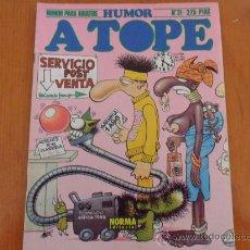 Cómics: COMIC HUMOR A TOPE Nº 31 - DE NORMA EDITORIAL -. Lote 37520183