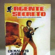 Comics : NOVELA GRÁFICA. AGENTE SECRETO. PRODUCCIONES EDITORIALES. 1982. Lote 37564327