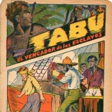 Cómics: TABU: EL VENGADOR DE LOS ESCLAVOS Nº20: EN LA CARCEL DE LOUISVILLE. Lote 37573999