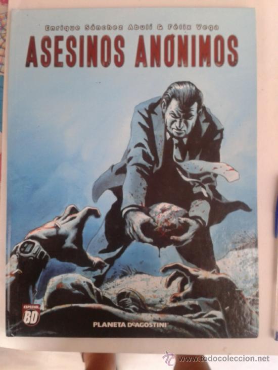 ASESINOS ANONIMOS --ESPECIAL BD -PLANETA AGOSTINI 2005 (Tebeos y Comics - Comics otras Editoriales Actuales)
