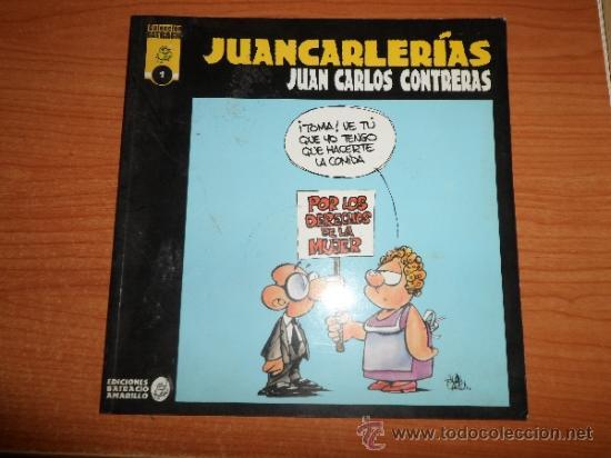 COLECCION BATRACIO Nº 1 JUANCARLERIAS DE JUAN CARLOS CONTRERAS EDICIONES BATRACIO AMARILLO (Tebeos y Comics - Comics otras Editoriales Actuales)