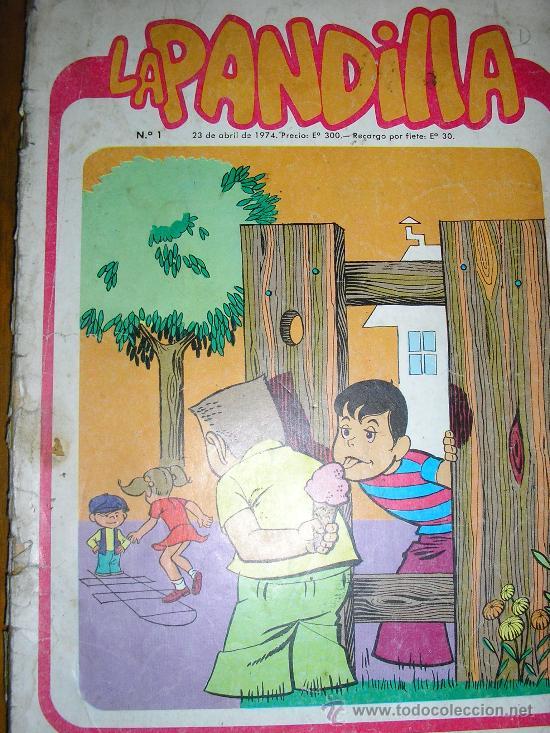 LA PANDILLA - Nº 1 - EDIC. GABRIELA MISTRAL - CHILE - 1974 - RARO!! (Tebeos y Comics Pendientes de Clasificar)
