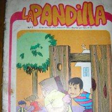 Cómics: LA PANDILLA - Nº 1 - EDIC. GABRIELA MISTRAL - CHILE - 1974 - RARO!!. Lote 37746886