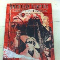 Comics: AMERICAN VAMPIRE. EL SEÑOR DE LAS PESADILLAS (RÚSTICA) - SCOTT SNYDER, DUSTIN NGUYEN - ECC EDICIONES. Lote 37948822