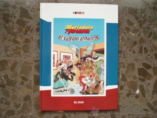 MORTADELO. EL SULFATO ATOMICO. EL PAIS. 2005. (Tebeos y Comics Pendientes de Clasificar)