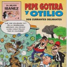 Cómics: COMIC . EL MEJOR IBAÑEZ ++ PEPE GOTERA Y OTILIO NUM. 4. Lote 38147504