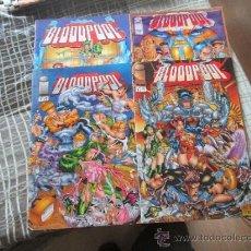 Cómics: BLOODPOOL 4 NUMEROS COMPLETA IMAGE. Lote 38173237