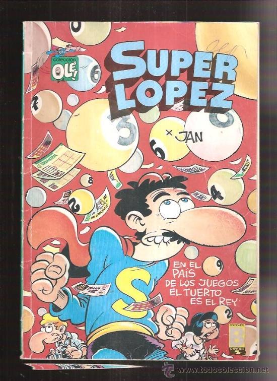 SUPER LOPEZ 12 (Tebeos y Comics Pendientes de Clasificar)