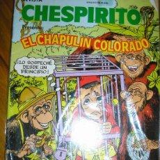 Cómics: REVISTA CHESPIRITO PRESENTA EL CHAPULIN COLORADO - Nº 4 - LEDAFILMS - ARGENTINA - 1987. Lote 38311765