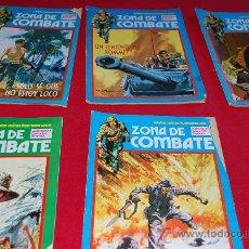 Cómics: ZONA COMBATE. 5 LIBROS.. Lote 38351033