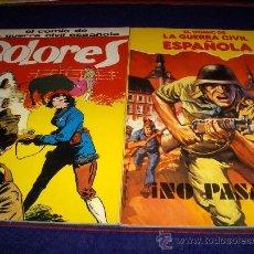 Cómics: COMIC DE LA GUERRA CIVIL Nº 2 CON PORTADA DE LÓPEZ ESPÍ Y DOLORES. PLAN S. L. 1980. MBE!!!!!!!!!!!!. Lote 43906034