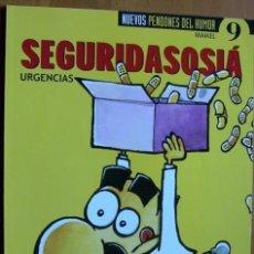 Cómics: SEGURIDASOCIÁ (URGENCIAS) - MAIKEL - ED. EL JUEVES - 2001. Lote 38448301