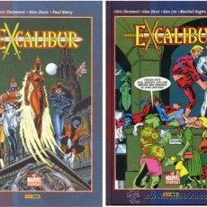 Comics : EXCALIBUR (CHRIS CLAREMONT & ALAN DAVIS) BOME, Nº 01 + Nº2 (COMPLETA)(DESCUENTO 20%). Lote 38498239