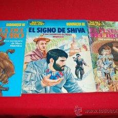 Comics : DOMINIQUE HE, EL SIGNO DE SHIVA, LA HUELLA DE MINOTAURO Y EL TESTAMENTO DEL DIOS CHAC. Lote 38711564