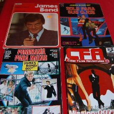 Cómics: COMICS DE JAMES BOND. 4 COMICS.. Lote 38711705