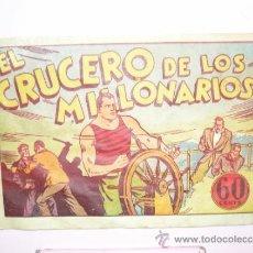 Cómics: JUAN CENTELLA EL CRUCERO DE LOS MILLONARIOS 60 CENTIMOS. Lote 38804729