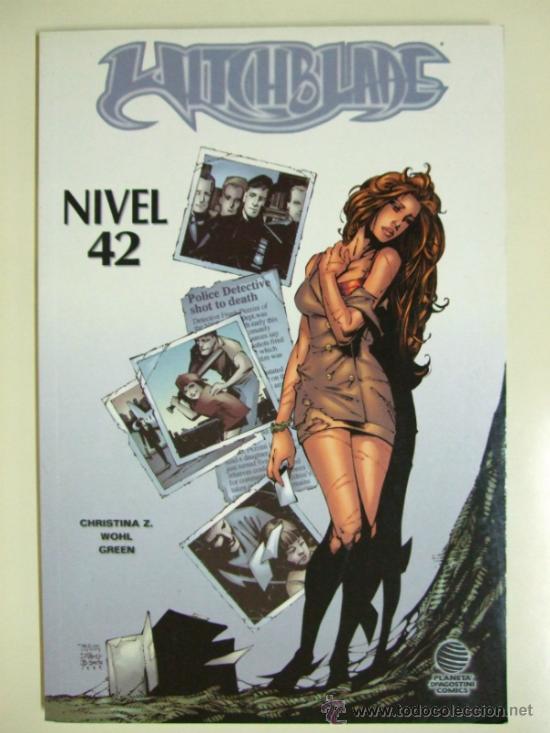 Cómics: LOTE CÓMICS WITCHBLADE 1 AL 25 - WORLD COMICS IMAGE + EL CASO PERONI + NIVEL 42 - PLANETA DEAGOSTINI - Foto 16 - 33565431