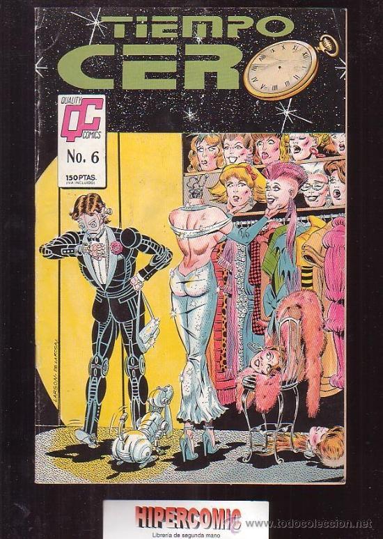 TIEMPO CERO Nº 6 / ALAN MOORE (Tebeos y Comics - Comics otras Editoriales Actuales)