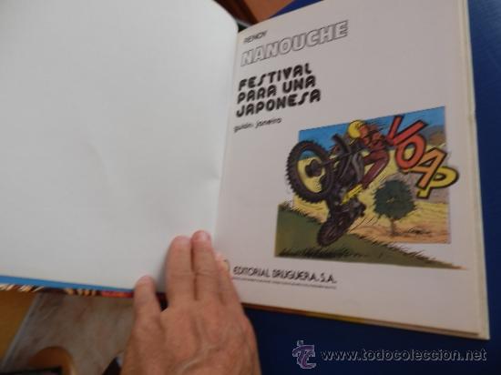 Cómics: Nanouche num. 1 - Festival para una japonesa(coleccion Jet Bruguera num.6) - tapa dura - Foto 3 - 39151173